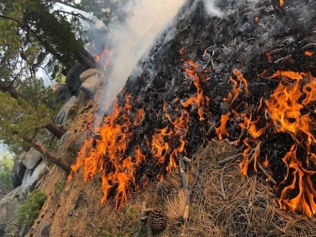 broder fire near ridgecrest  california